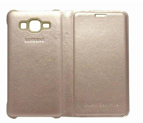 competitive price deeb8 24f3c Flip Cover For Samsung Galaxy Grand Prime (beige)