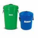 Round Plastic Dustbin