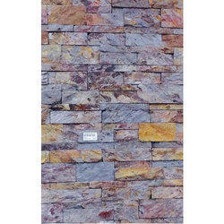 Natural Stone Wall Paving Tiles, Thickness: 5-10 mm