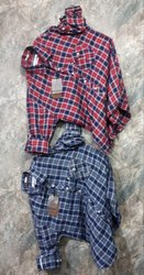 Full Sleeves Check Mens Designer Checks Shirts