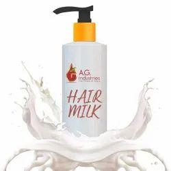 Natural Hair Milk Moisturizer, Type Of Packaging: Bottle & Plastic Bottle, Liquid