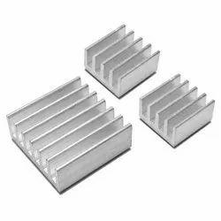 Aluminium Aluminum Heat Sink, Thickness: 10-100 Mm