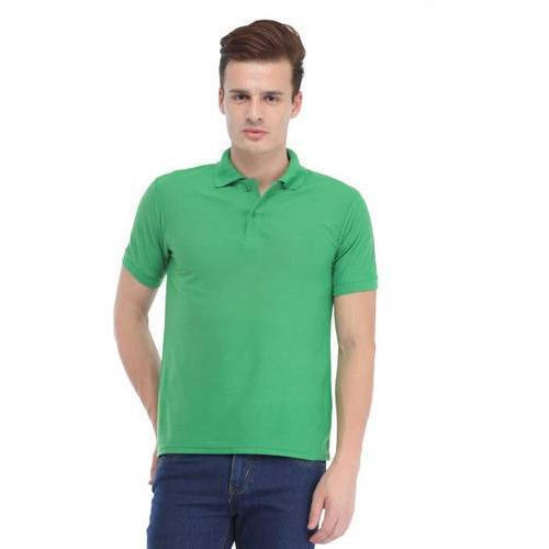 43947afb4 Trendy Trotters Light Green Men Polo Neck T Shirt, Rs 299 /piece ...