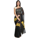 Cotton , Formal Wear , Traditional Hand Painted Saree