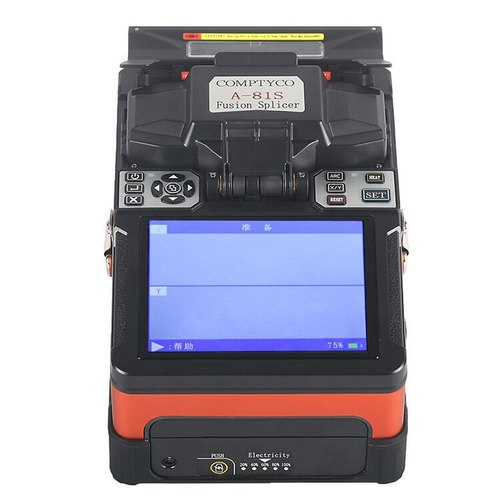 Cable Fusion Splicer Mfs-t60 With Fiber Cleaver Ftth Sm Mm Communication Equipments Cellphones & Telecommunications