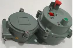 Single And Three Phase Electric Flameproof DOL Starter, 220-230 V