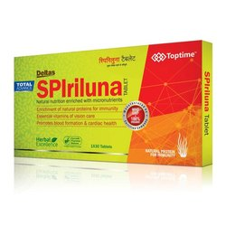 Toptime Deltas Spirulina Tablets, Prescription
