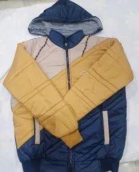 Full Sleeve Men's Jacket, Size: Free