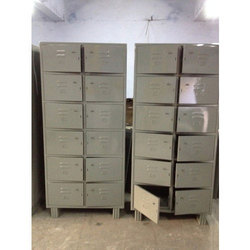 Mild Steel 12 Locker Cabinet
