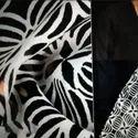 Black Rajasthani Printed Cotton Fabrics