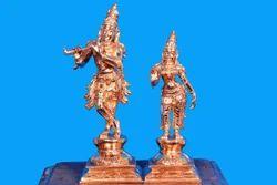 Radha Krishna Bronze Solid Statues