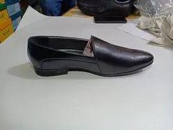 PVC Black Men Formal Shoes