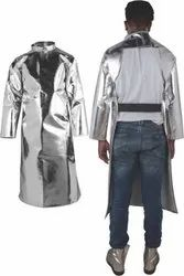 Aluminized Back Open Coat