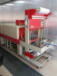 Mild Steel Web Sealer Shrink Machine