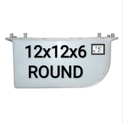 Kerbstone Round  Silicone Plastic Paver Mould