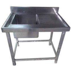 2 Sink With Work Table