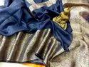 Silk Linen Banarasi Sarees