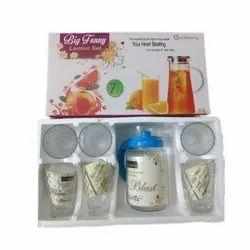 Pinkberry Jug Glass Set, Packaging Type: Box