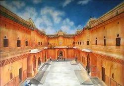 Nahargarh Fort Painting