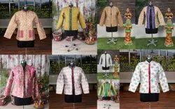 Silk Allover Jacket