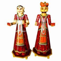 Wooden Isar Gangaur