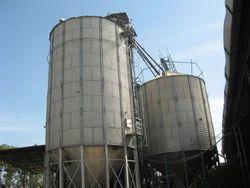 Galvanized Grain Storage Silo