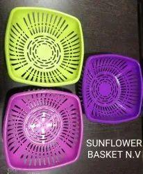 Sunflower N.V Polypropylene Basket