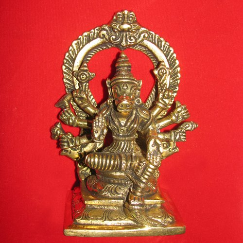 Goddess Varahi Amman Consort Of Lord Varaha Brass Varahini Statue Barahi  Idol