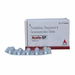 Acedofenac, Paracetamol & Serratiopeptidase Tablets