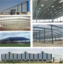 Steel,FRP Pre Engineered Building