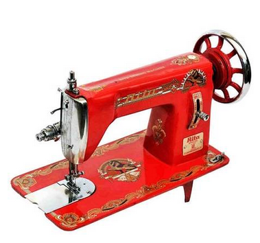 Rita Special 40 Sewing Machine Red Singhsons Scientific Traders ID New Rita Sewing Machine Ludhiana