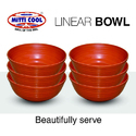500ml Earthen Linear Bowl