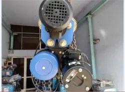 Motorised  chain  pulley  block