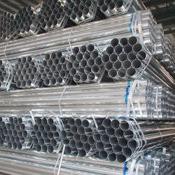 Round Galvanized Iron Pipe, Size: 1/2