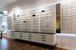 Optical Showroom Designing, Mall Interior