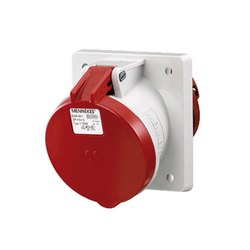 1155A Panel Mounted Industrial Socket Receptacle