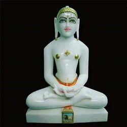 White Buddh Statue