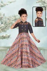Spring Kids Anarkali Suit