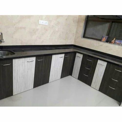 L Shaped Kitchen Cabinet