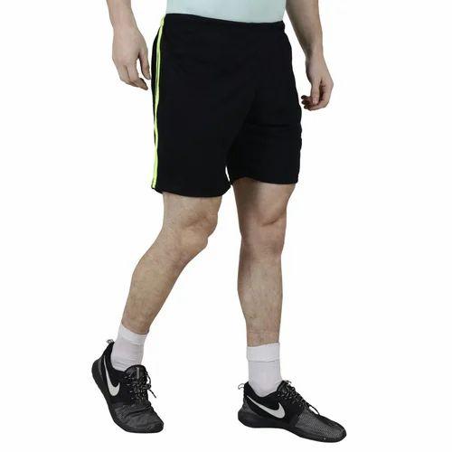 0d1f3e6f8f Mens Black Shorts