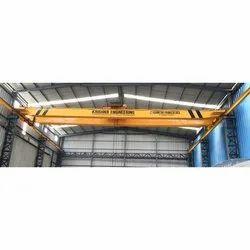 Krishna Engineering Double Girder Overhead Traveling Cranes, Capacity: 0-5 ton