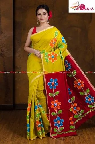 Hand Painted Soft Boutique Sarees