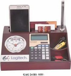 Table Clock With Mobile Stand