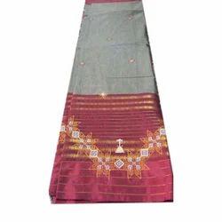 Mercerised Silk Saree, 6 M
