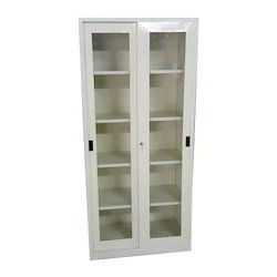 Off White Sliding Gl Door Cabinet