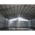Prefab Mild Steel Industrial Warehouse Shed