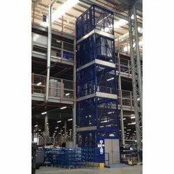 Double Mast Goods Lift