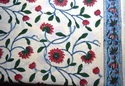 Indian Hand Block Printed 100 % Cotton Fabric Sanganeri Print
