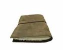 Deckle Edge Paper Leather Bound Journal
