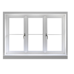 Hinged White Openable UPVC Window, Size/Dimension: 5 X 3.5 Feet